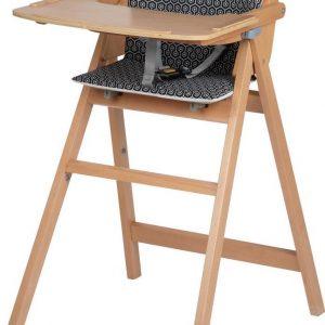 Safety 1st Nordik Kinderstoel - Natural Wood - Met Kussen - Geo Metric