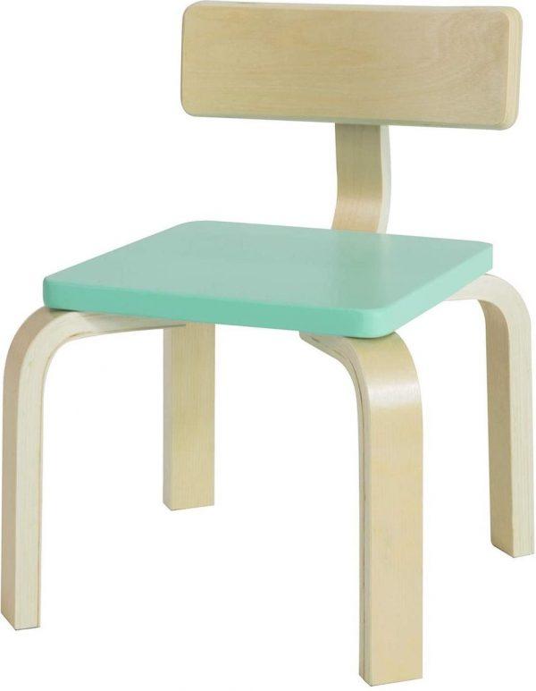 Simpletrade Kinderstoel - Stoel kind - Ergonomisch - Turquoise - 33x43x33 cm