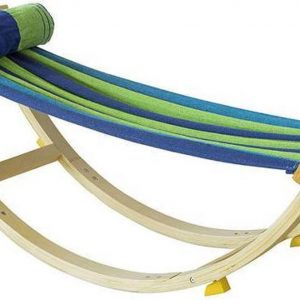 Simpletrade Kinderstoel - Hangmat - Kussen - Stoppers - 124x45x36 cm