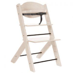 Treppy ® Kinderstoel woody sneeuw white