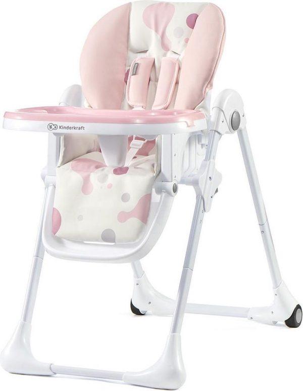 Kinderkraft Kinderstoel YUMMY - Roze