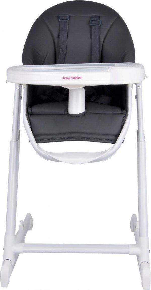 Moby System Ines Kinderstoel - Ligstand - Grijs - Baby stoel - ligstoel