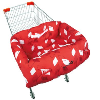 Safety 1st Stoelverhoger Shopping Trolley Protect Campus Rood