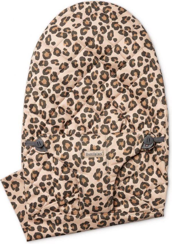 BABYBJÖRN Stoffen Zitting voor BABYBJÖRN Wipstoel - Beige-Luipaard Cotton