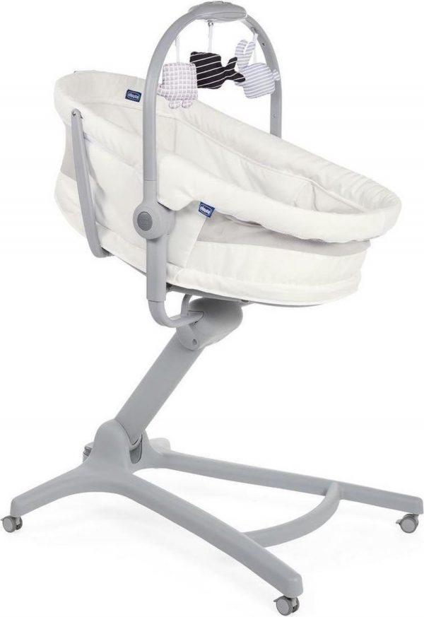Chicco Baby Hug Air 4 In 1 Wieg/ Kinderstoel - White Snow