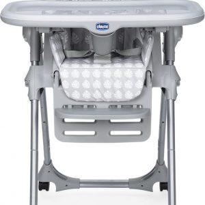 Chicco Polly Easy Kinderstoel - Inklapbare baby eetstoel - Met stoelverkleiner - Hoogte verstelbaar - Giraffe