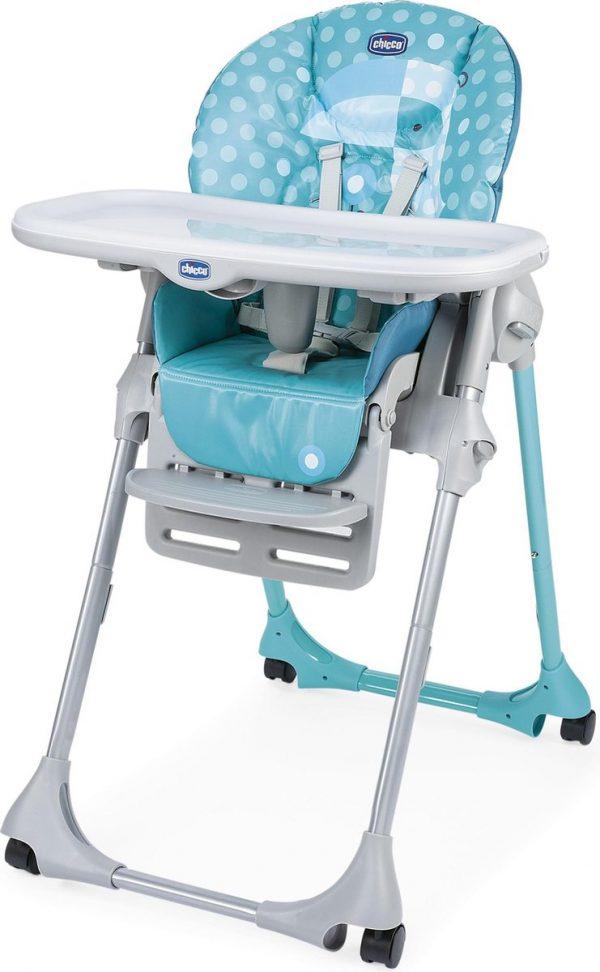 Chicco Polly Easy Kinderstoel - Inklapbare baby eetstoel - Met stoelverkleiner - Hoogte verstelbaar - Tucano