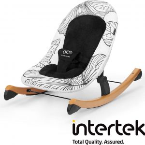 Kinderkraft Wipstoel - schommelstoel Finio Black & White