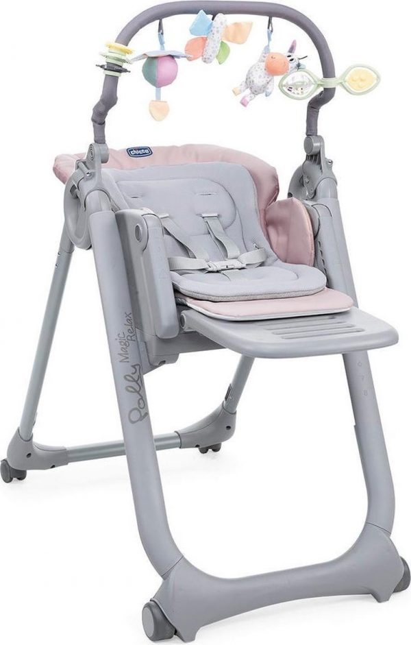 Kinderstoel Chicco Polly Magic Relax Paridise Pink