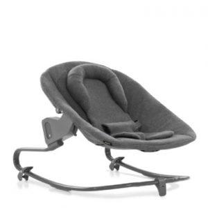 hauck Baby Aanhangsel Alpha Wipstoel Premium Jersey Charcoal