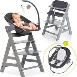 Hauck Alpha Plus Kinderstoel - Newborn Set Deluxe - Grijs