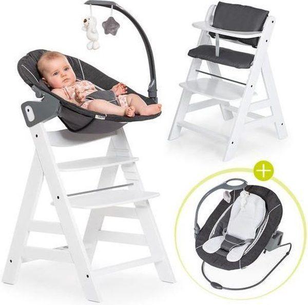 Hauck Alpha Plus Kinderstoel - Newborn Set Deluxe - Wit