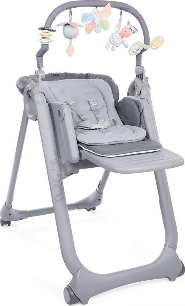 Chicco Kinderstoel Chicco Polly Magic Relax Graphite