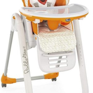 Chicco Polly 2 Start Kinderstoel - Baby eetstoel - Verstelbare rugleuning - Hoogte verstelbaar - Fancy Chicken