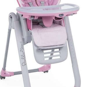 Chicco Polly 2 Start kinderstoel - miss pink