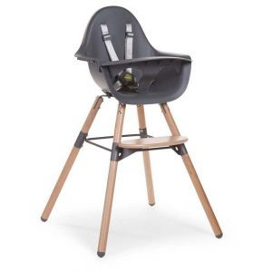 Childwood Evolu 2 Kinderstoel Naturel/Antraciet