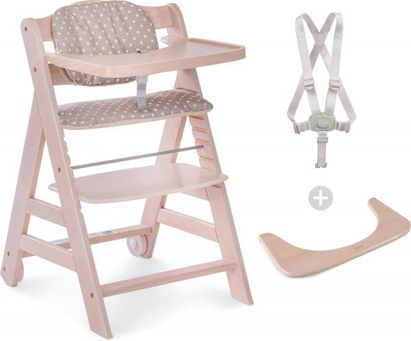 Hauck Beta+ Kinderstoel - Whitewash/Dots
