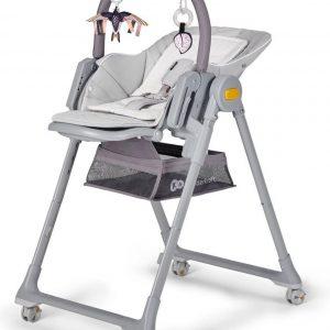 Kinderkraft Kinderstoel Lastree Grijs - Eetstoel voor kinderen