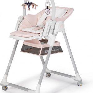 Kinderkraft Kinderstoel Lastree Roze - Eetstoel voor kinderen
