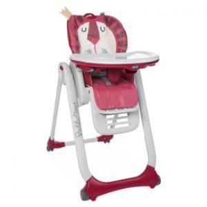 chicco Kinderstoel Polly 2 Start Leeuw
