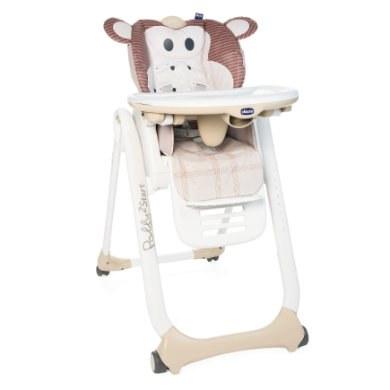 chicco Kinderstoel Polly 2 Start Monkey