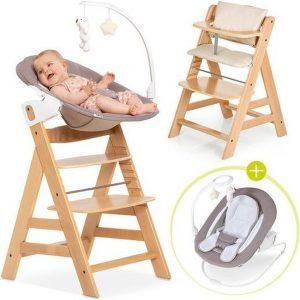 Hauck Alpha Plus Kinderstoel - Newborn Set Deluxe - Natural / Beige