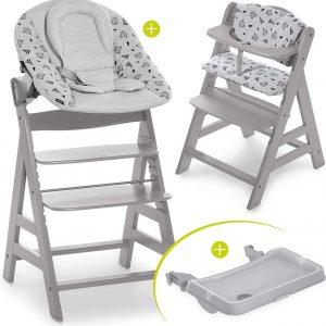 Hauck Alpha Plus Kinderstoel - Newborn Set XL - Grijs