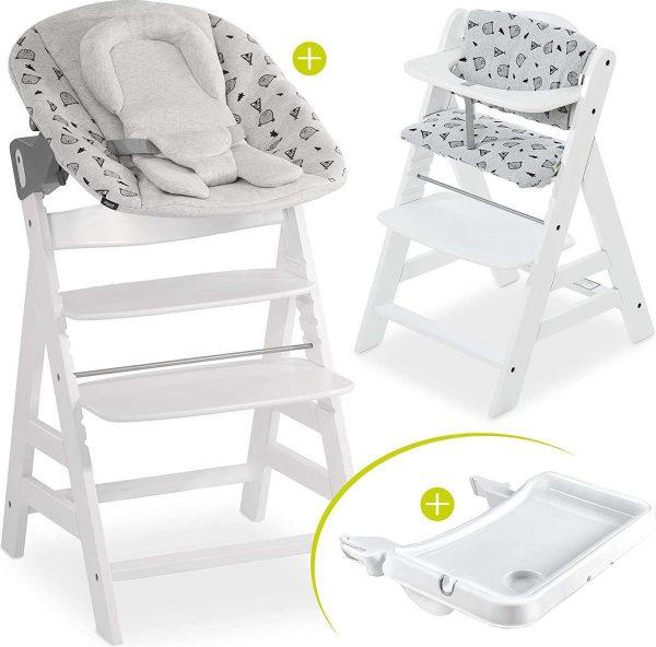 Hauck Alpha Plus Kinderstoel - Newborn Set XL - Wit