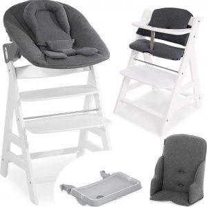 Hauck Alpha Plus Kinderstoel - Newborn Set XXL - Wit