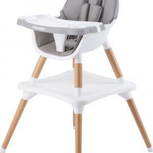 Kinderstoel 3 in 1 Classy grijs chipolino
