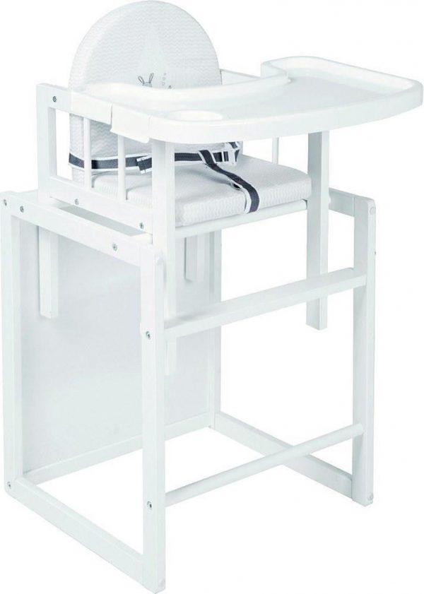 Roba - 2-in-1 Kinderstoel - Wit