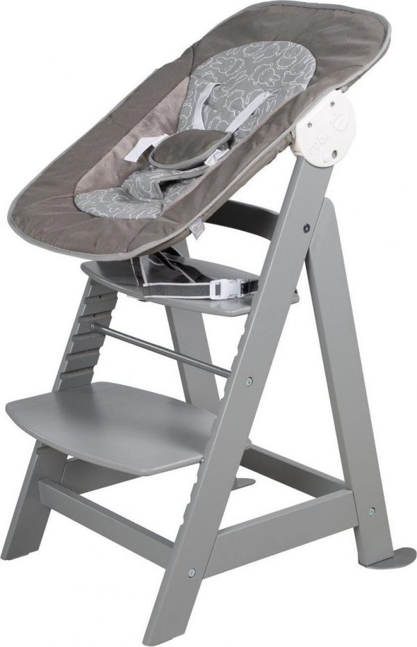 Roba Kinderstoel Born Up Nijntje 94 Cm Hout/polyester Grijs