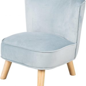 Roba Kinderstoel Lil Sofa Junior 50 Cm Fluweel Blauw