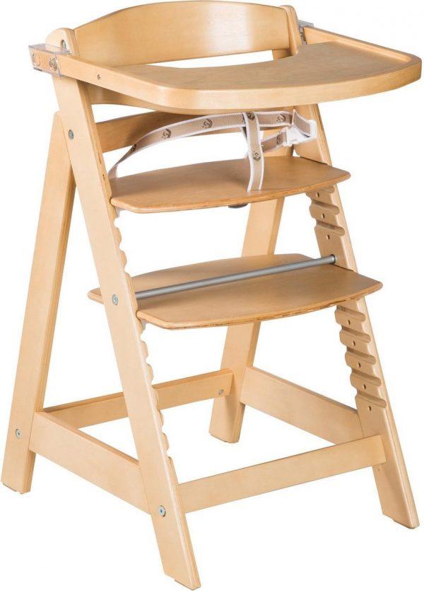 Roba Kinderstoel Sit Up Click 54 X 50,5 X 80 Cm Hout Beige
