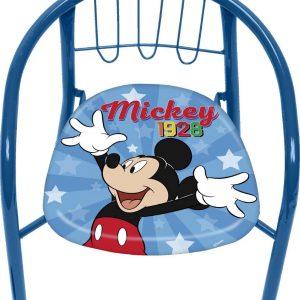Disney Kinderstoel Mickey Mouse Jongens Staal Blauw