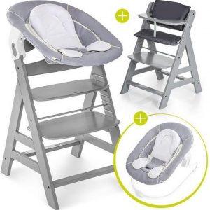 Hauck Alpha Plus Kinderstoel - Newborn Set - Grijs