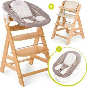 Hauck Alpha Plus Kinderstoel - Newborn Set - Natural / Beige