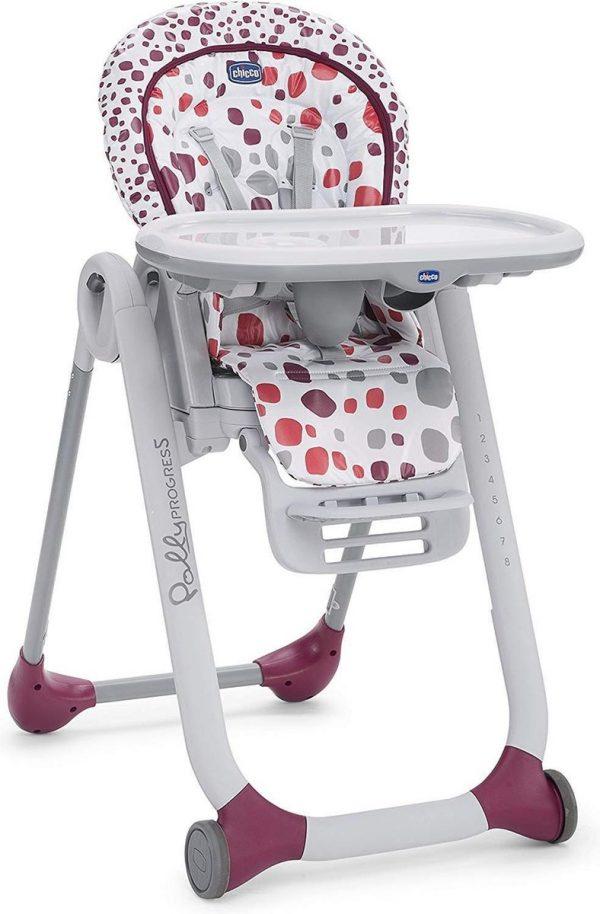 Chicco Polly Progres5 Kinderstoel - Compleet verstelbaar - Baby stoel met stoelverhoger