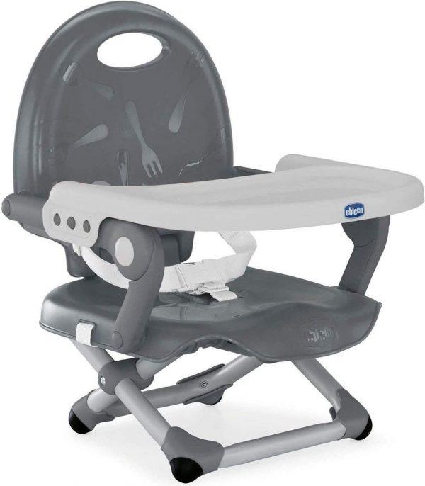 Chicco - Stoelverhoger Pocket Snack - Verstelbare Kinderstoel - 3 Hoogtes - Lichtgewicht en Compact - Afneembaar Blad