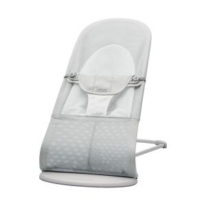 BabyBjörn Balance Soft Wipstoel Mesh Silver / Wit