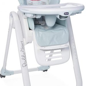Chicco Polly 2 Start Kinderstoel - Baby eetstoel - Verstelbare rugleuning - Hoogte verstelbaar - Froggy