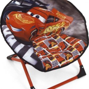 Disney Cars stoel - Inklapbare stoel - Opbouwbare stoel - Bliksem McQueen - Lounge stoel - Kinderstoel
