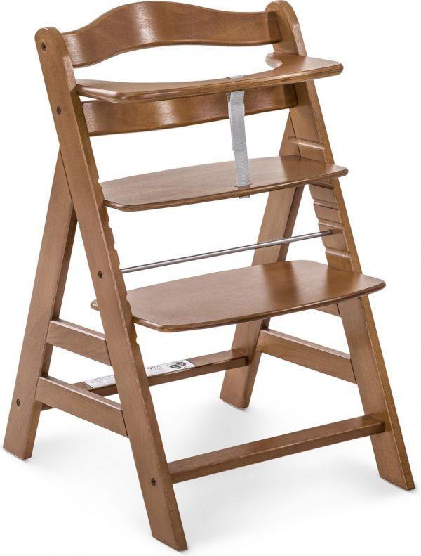Hauck Alpha+ Kinderstoel - Walnoot