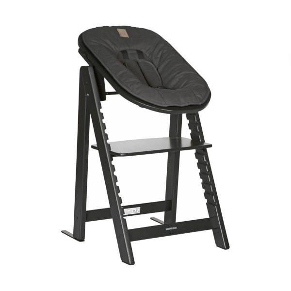 Kidsmill Up! Kinderstoel + Newbornset Zwart