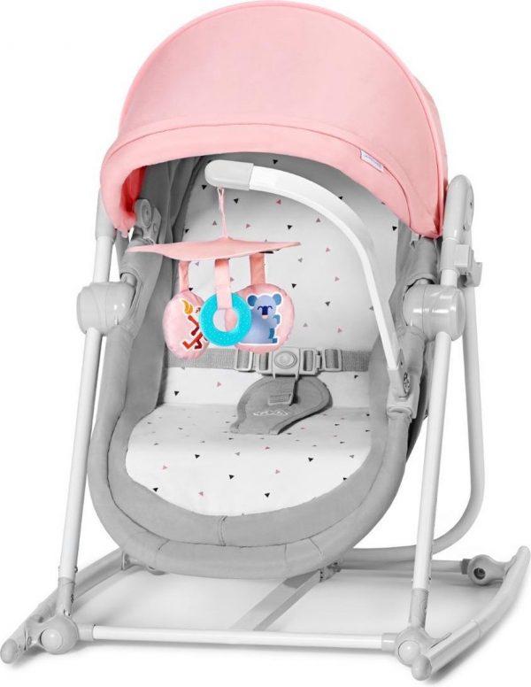 Kinderkraft Unimo Up 5in1 Wieg - Wipstoel - Schommelstoel Roze
