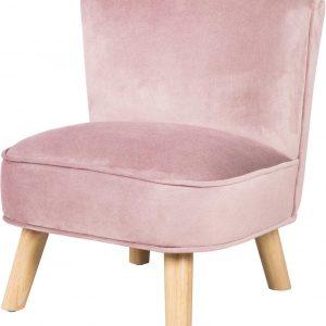 Roba Kinderstoel Lil Sofa Junior 50 Cm Fluweel Roze