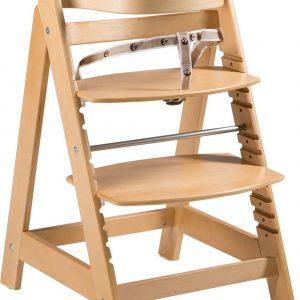 Roba Kinderstoel Sit Up Click 54 X 44,5 X 80 Cm Hout Beige