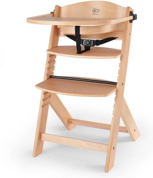 Kinderkraft Meegroei Kinderstoel Enock - Hout Naturel