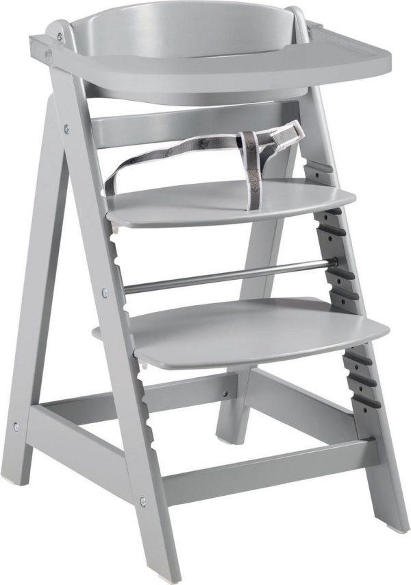 Roba Kinderstoel Sit Up Click 54 X 50,5 X 80 Cm Hout Grijs